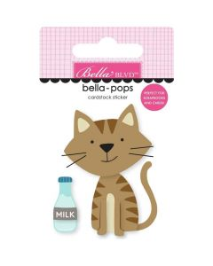 Tabby Cat Sticker - Chloe - Bella Blvd*