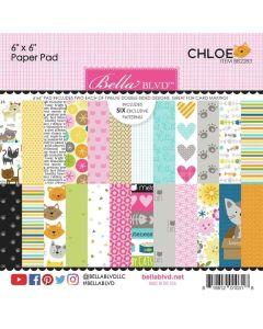 "Chloe 6"" x 6"" Paper Pad - Bella Blvd*"