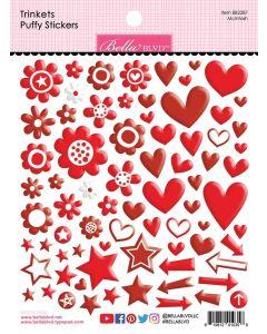 McIntosh Trinkets Puffy Stickers - Bella Besties - Bella Blvd