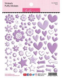 Plum Trinkets Puffy Stickers - Bella Besties - Bella Blvd
