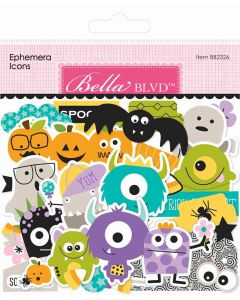 Monsters & Friends Ephemera Icons - Bella Blvd