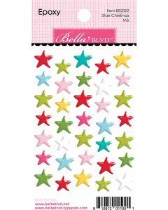 Stars Christmas Mix Epoxy - Fa La La - Bella Blvd