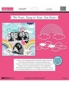 Over the Rainbow Cut Outs - Bella Besties - Bella Blvd