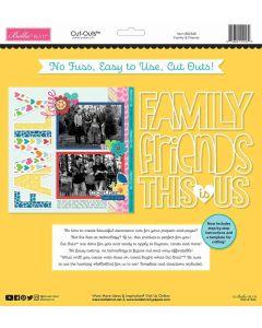 Family & Friends Cut Outs - Bella Besties - Bella Blvd