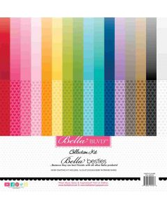 Hearts & Ombré Rainbow Collection Kit - Bella Besties - Bella Blvd
