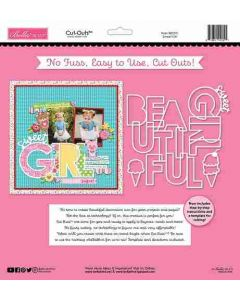 Sweet Girl Cut Outs - My Candy Girl - Bella Blvd