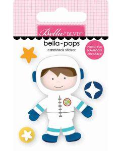 Space Boy Bella-pops - To the Moon - Bella Blvd