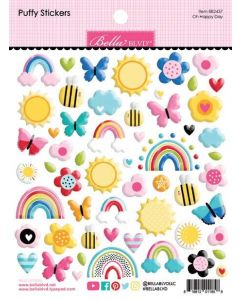 Oh Happy Day Puffy Stickers - You Are My Sunshine - Bella Blvd