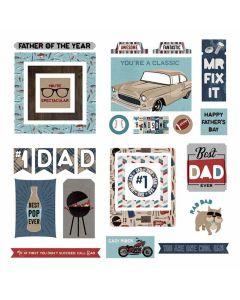 Best Dad Ever Ephemera - Becky Fleck - PhotoPlay