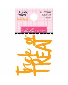 Trick or Treat Acrylic Words - Monsters & Friends - Bella Blvd
