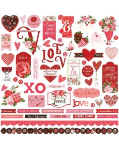 Be Mine Sticker Sheet - Becky Fleck Moore - PhotoPlay