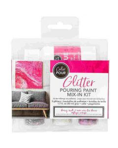 Berry Rush Glitter Color Pour