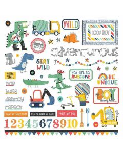 Little Boys Have Big Adventures Stickers - PhotoPlay*