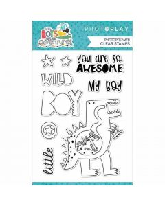 Little Boys Have Big Adventures Stamps - PhotoPlay*