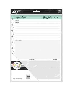 MAMBI Big planner pages Project sheets