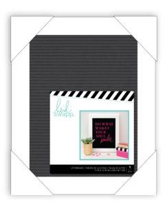 Black Medium Heidi Swapp Letterboard
