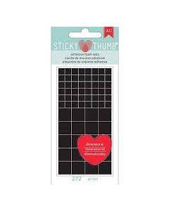 Black Adhesive tabs