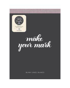 Kelly Creates 8.5 x 11 Blank Paper Pad