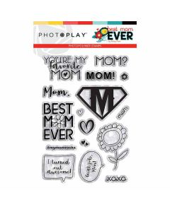Best Mom Ever Element Stamps