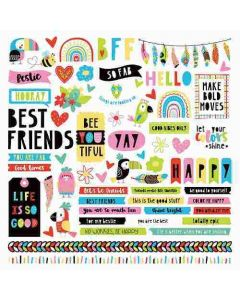 Birds of a Feather Element Stickers - Becky Moore - PhotoPlay