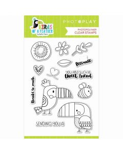 Birds of a Feather Stamps - Becky Moore - PhotoPlay