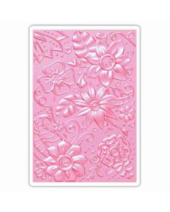 3D Bohemian Botanicals embossing folder