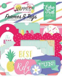 Best Summer Ever Frames & Tags - Echo Park