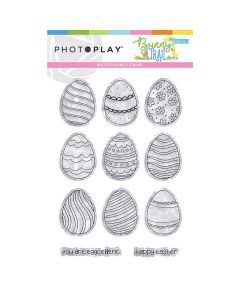 Bunny Trail Egg Stamps