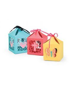 Butterflies & Cross Favor Boxes