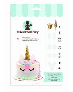 Sweet Tooth Fairy Cake Faces