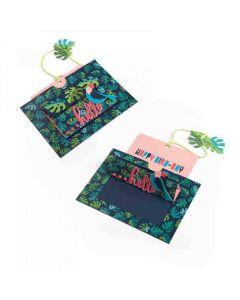 Lynda Kanase Tropicool Slider Card Sizzix