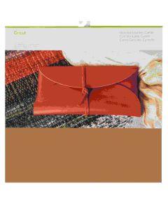 Cricut Maker Carmel Genuine Leather materail