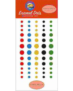 All Aboard Enamel Dots - Steven Duncan - Carta Bella