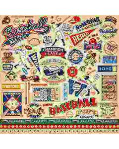 Baseball Element Stickers