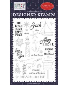 Ahoy There Stamp Set - By the Sea - Carta Bella*