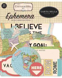 Cartography No. 1 Ephemera - Carta Bella