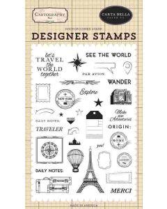 See The World Stamp Set - Cartography No. 1 - Carta Bella