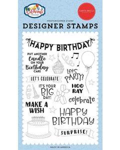 Birthday Surprise Stamps - Let's Celebrate - Carta Bella