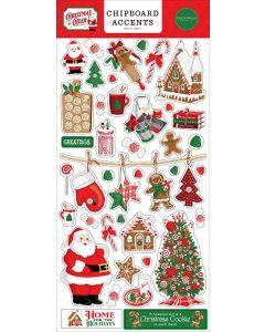 Christmas Cheer Chipboard Accents - Carta Bella