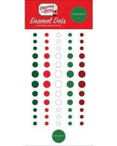 Christmas Cheer Enamel Dots - Carta Bella