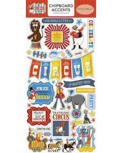 """Carta Bella 6"""" x 12"""" Chipboard Stickers"""