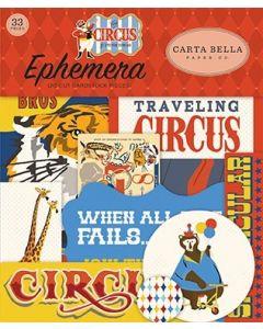 Carta Bella Ephemera - Circus