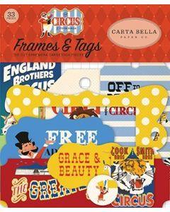 Carta Bella Frames & Tags - Circus
