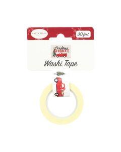 Market Trucks Washi Tape - Christmas Market - Carta Bella