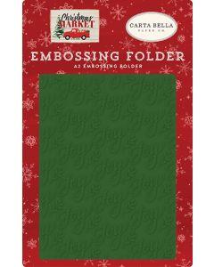 Joy Embossing Folder - Christmas Market - Carta Bella