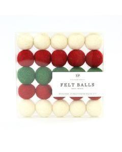 Christmas Felt Ball Multi Pack - Christmas Market - Carta Bella