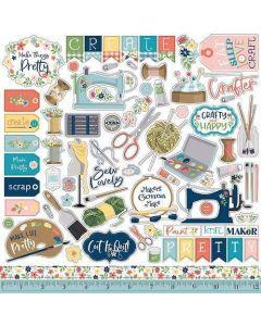 Craft & Create Element Stickers - Carta Bella