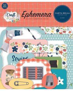Craft & Create Ephemera - Carta Bella