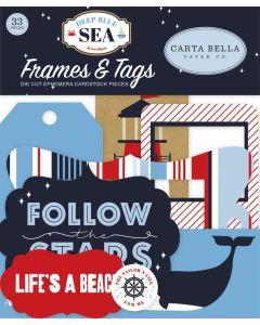 Deep Blue Sea Frames & Tags - Carta Bella