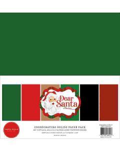 Dear Santa Solids Kit - Carta Bella